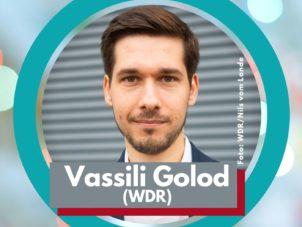 Porträt von Vassili Golod