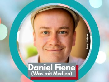 Talk-Gast Daniel Fiene