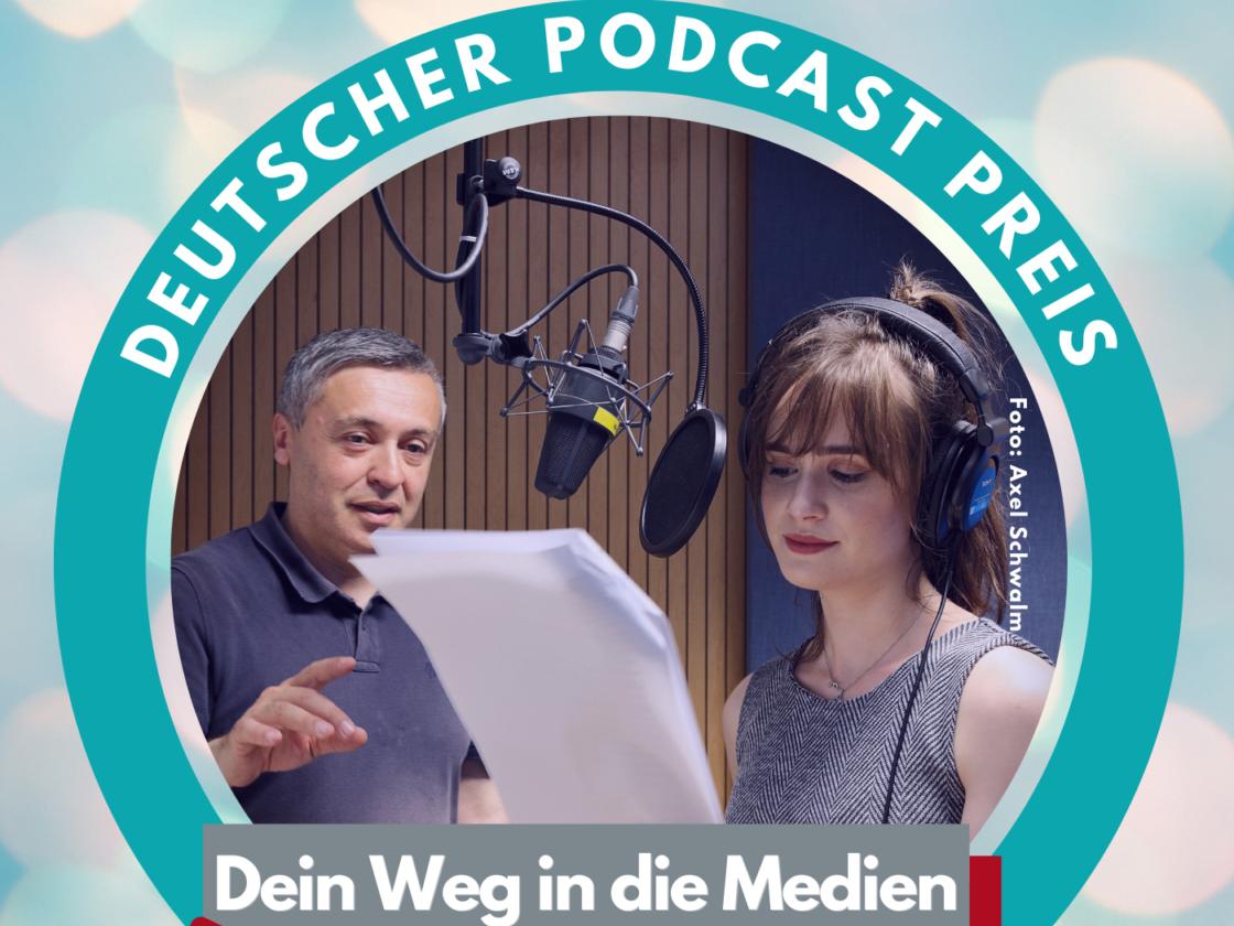 Abstimmen beim Deutschen Podcast Preis